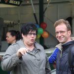 Landtagskandidat und Marlies Audersch im Gespräch